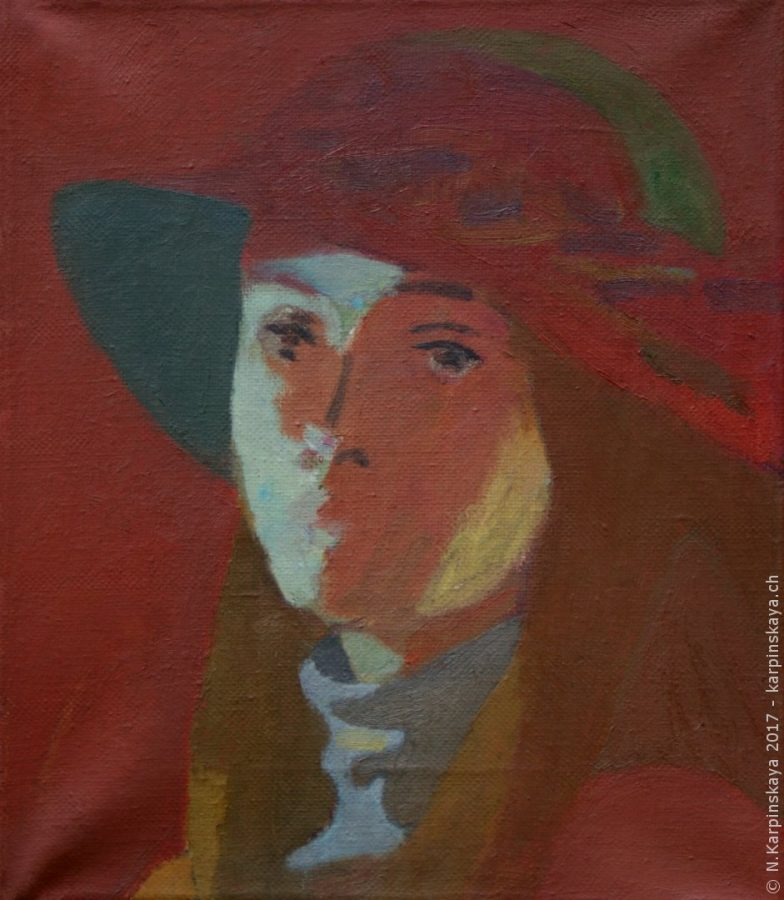 «Tanya» 2002, oil on canvas, 35x30.